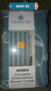 NEW Embroidery Shower Curtain for JUST $3. Newport News, 23606