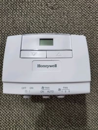 HONEYWELL T6570/T8570 SERIES DIGITAL FAN COIL THERMOSTATS  Markham, L3S 3C2