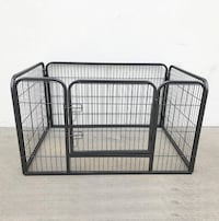 """New $70 Heavy Duty 49""""x32""""x28"""" Pet Playpen Dog Crate Kennel Exercise Cage Fence, 4-Panels South El Monte"""