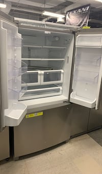 Kenmore French doors stainless steel refrigerator