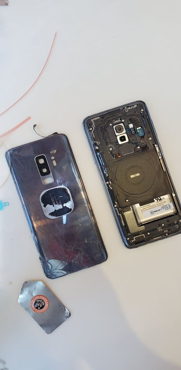 SAMSUNG S9+ BACK GLASS REPLACEMENT a881bf47-d545-4b2e-bdf3-ed763003e9ff