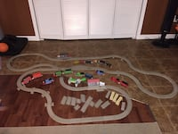 Track master train tracks and trains Middleburg Heights, 44130