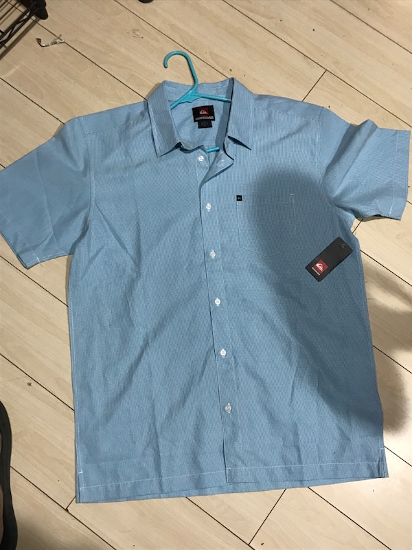 a7467599f1 Used blue Quicksilver button-up dress shirt for sale in Long Beach - letgo