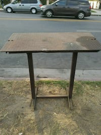 Iron work table