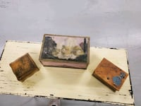 Antique jewelry boxes..really really old..lol.  Fridley, 55432
