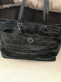 black Coach leather tote bag Concord, 94518