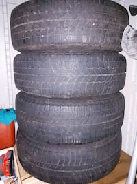 Michelin X- ice Winter Tires 205 70 R15 with Rims  Pickering