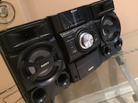 Sony speakers work really well goes really loud bass sounds amazing  Cambridge, N1P 1E3