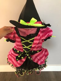 Baby Girl Witch Costume Size 12 months  Delta, V4E 2Z5