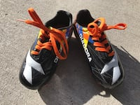 Kids Black/Orange/white Diadora Soccer shoes Calgary, T3G 4S8