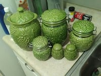 Kitchen Canisters.
