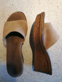 Semsket skinnsandaler. Suede leather sandals  Oslo, 0368