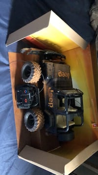 Remote control jeep toy
