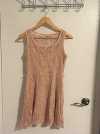 Deb Blush Pink Lace Dress