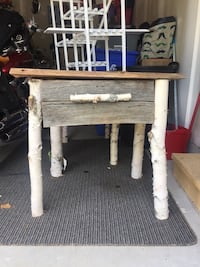 Handcrafted wooden tables (2) Wasaga Beach, L9Z