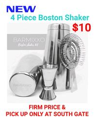 NEW!! 4 Piece Boston Shaker South Gate, 90280
