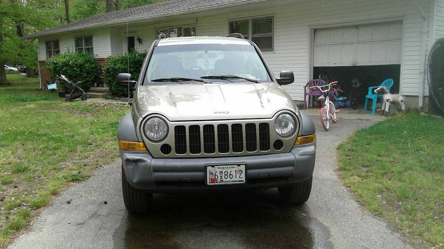 used tan jeep liberty rocky mountain edition 4 4 as is in california. Black Bedroom Furniture Sets. Home Design Ideas