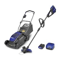 Kobalt 40-Volt MAX* Lithium-Ion Cordless Lawn Mower and String Trimmer Combo Kit Toronto, M6N 4B3