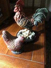 Rooster / Chicken Ornaments   Zorra, N5C 3J5