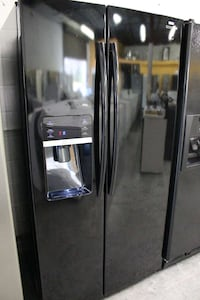 black Samsung side-by-side refrigerator Woodbridge, 22191
