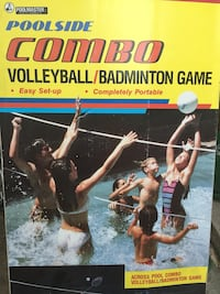 Pool side vollyball badminton pool game New $115 obo Chicago, 60618