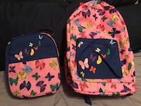 Butterfly backpack and lunch tote new Hannah Anderson  Pooler, 31322