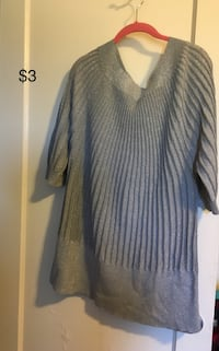 Sweaters in good condition, $3 and $5each size 22 Stockton, 95207
