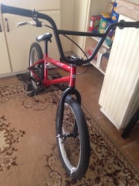 Red and black bmx bike Simcoe, N3Y 4T5