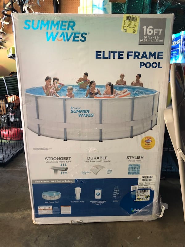 Summer Waves Elite Fame Pool 16ft x 48in. 04ae09b7-1547-48ac-84a5-52c0189e50d0