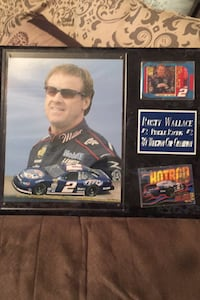 Rusty Wallace wall plaque