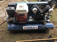 blue and black Eagle air compressor Calgary, T2C