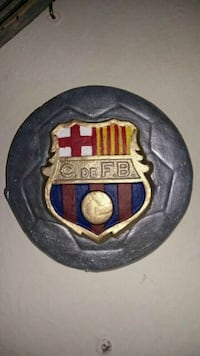 12 cm escudo barcelona colgar color  Madrid