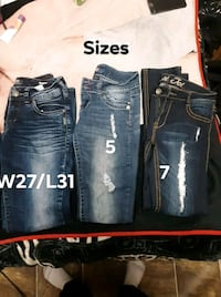3 pairs of Jean's  Winnipeg, R2W 2L7