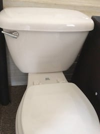 White ceramic toilet bowl with cistern they are in great condition.  Fairfax, 22032