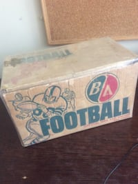 Ba British American oil company foot ball like oil can and sign 1950s Adjala-Tosorontio, L0M