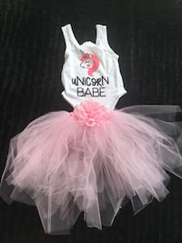 women's white and pink tutu dress