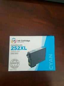Epson 252XL cartridge