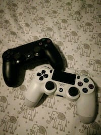 Two PS4 game console controller Millbrae, 94030