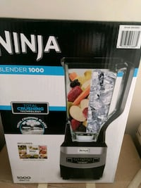 Ninja blender (never used) sealed in a box Mississauga