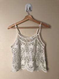 See-through lace swimsuit coverup  Regina, S4T 2E2