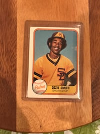 1980-81 Fleer Ozzie Smith Baseball Card Calgary, T2M 2P2