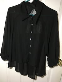 Black blouse  Burnaby, V5C 2L3