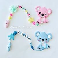 Koala baby teether fashion style customize toddler Richmond, V6Y 1P3