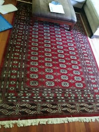 2 rugs - Bokhara rug and a wool rug West Windsor Township, 08550