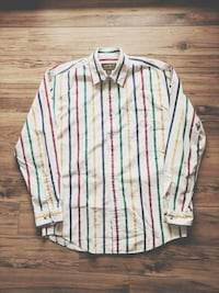 Sz M VTG Eddie Bauer x Hudson's Bay Button Up Calgary, T3K