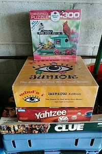 Games and Puzzle all $10; Minds I $30 Mississauga, L5J 4C6