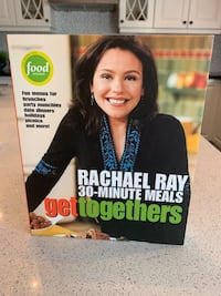 NEW RACHEL RAY 30-minute meals get together cookbook