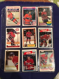 9 Montreal Canadians Hockey Cards Calgary, T2M 2P2