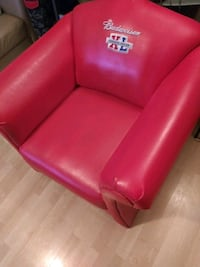red leather 2-seat sofa Toronto, M6L 1B6
