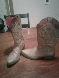 Women's cowboy boot leather new Warren very little Florence, 35633